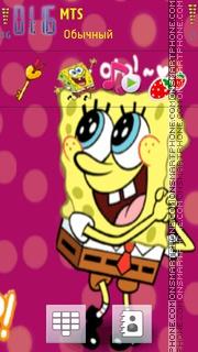 Happy Sponge Bob Icons theme screenshot