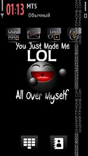 Funny Lol es el tema de pantalla