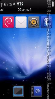 Mac Os 05 theme screenshot