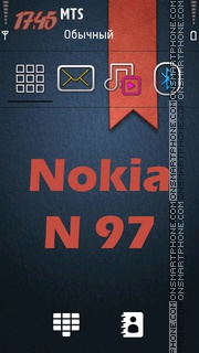 Nokia N97 Keypad es el tema de pantalla