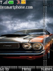 Dodge Challenger 13 theme screenshot