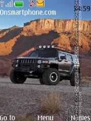 Capture d'écran Hummer H3 03 thème
