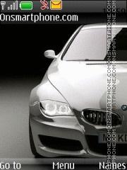 Скриншот темы BMW m6 concept