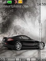 Mercedes McLaren SLR Brabus theme screenshot