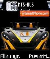 K1 Lotus es el tema de pantalla