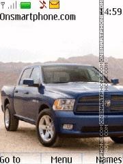 Скриншот темы Dodge ram 02