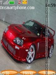 Toyota Supra 102 theme screenshot