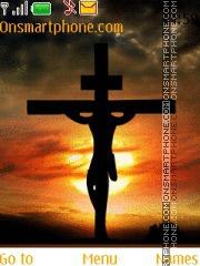 Jesus Cross theme screenshot