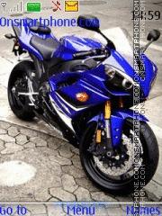 Скриншот темы Yamaha R1 2012