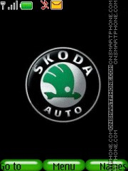 Skoda Auto theme screenshot