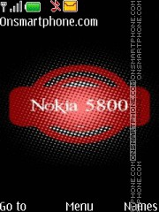 Nokia 5800 05 theme screenshot