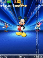 Mickey Mouse 15 theme screenshot