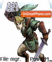 Legend Of Zelda es el tema de pantalla