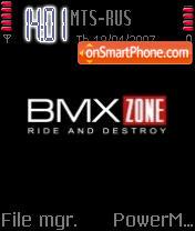 BMX theme screenshot
