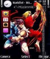 Hadoken 01 theme screenshot
