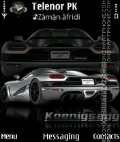 Koenigsegg theme screenshot