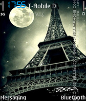 Paris Night 03 es el tema de pantalla