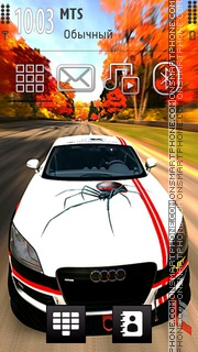 Audi Tt 04 theme screenshot