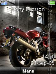 Cool Bike 01 es el tema de pantalla
