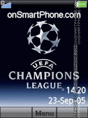 Champions League 10 theme screenshot