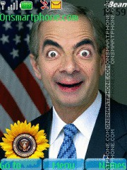 Mr Bean With ringtone theme screenshot