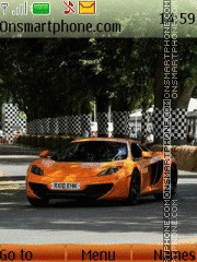 McLaren MP4-12C theme screenshot