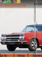 Chevrolet Chevelle Malibu SS Convertible 01 theme screenshot