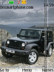 Jeep Wrangler theme screenshot