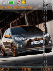 Citroen DS3 sport theme screenshot