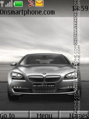 BMW 625i concept theme screenshot