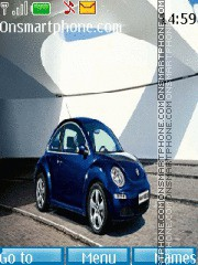 Volkswagen Beetle 01 theme screenshot