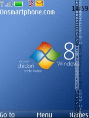 Windows Blue 01 Theme-Screenshot