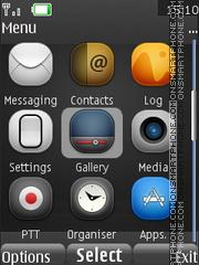 Скриншот темы I Phone Freak