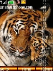 Tigers 03 theme screenshot
