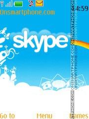 Skype Theme theme screenshot