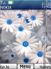 3d Flowers theme screenshot