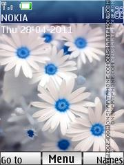 Скриншот темы 3d Flowers