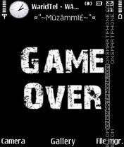 Game Over 06 es el tema de pantalla