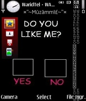 Like Me 01 theme screenshot