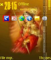 Samurai 04 tema screenshot