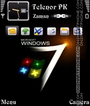 Window Seven 01 Theme-Screenshot