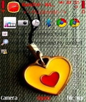 Love Heart 04 theme screenshot