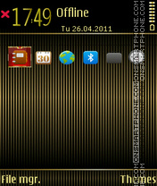Gb-line theme screenshot