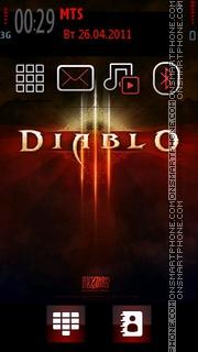 Diablo 04 theme screenshot