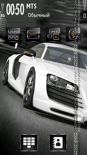 Audi R8 26 Theme-Screenshot