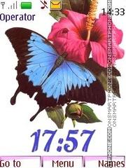 Скриншот темы Butterfly 12 pict_swf