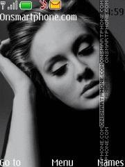Скриншот темы Adele 01