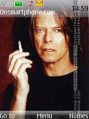 David Bowie theme screenshot
