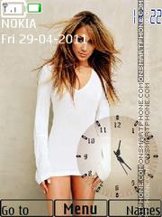 Jennifer Lopez 14 theme screenshot