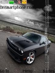 Dodge Challenger SRT8 theme screenshot